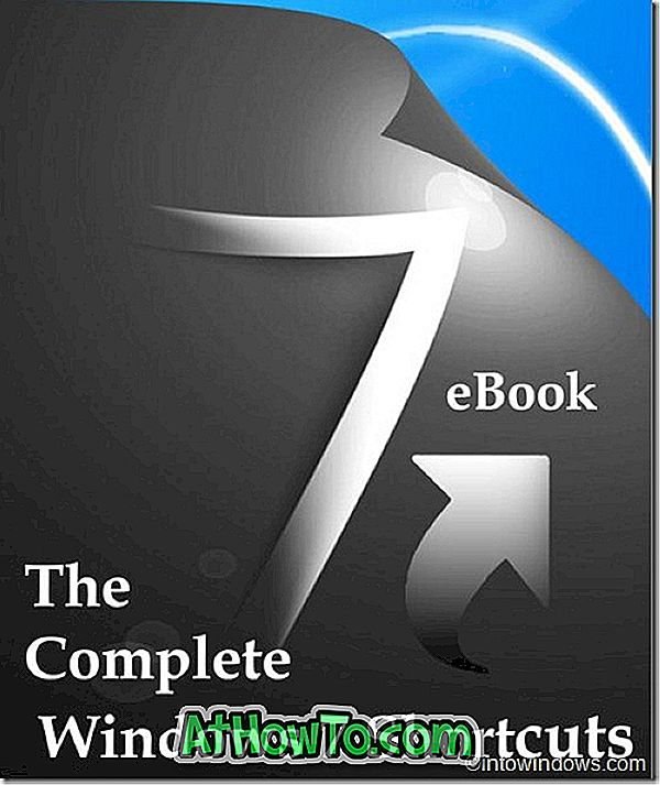 Scarica l'eBook completo di scorciatoie di Windows 7 completo (PDF)