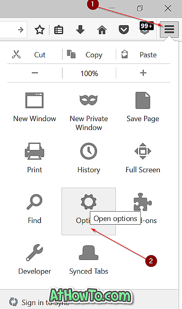 Sådan kopieres webadresser, der er åbne i alle faner af Firefox uden udvidelser