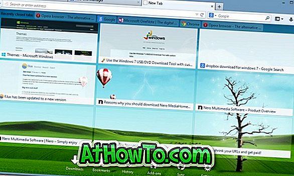 เปลี่ยนพื้นหลังหน้าแท็บใหม่ของ Firefox โดยใช้ส่วนขยายเครื่องมือแท็บใหม่