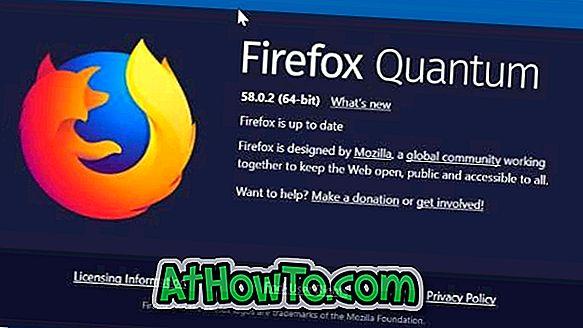 4 måder at sikkerhedskopiere adgangskoder gemt i Firefox 62, 63 og 64
