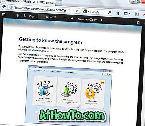 फ़ायरफ़ॉक्स में पीडीएफ फाइलें कैसे खोलें