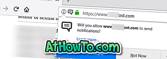 "Hoe de prompt ""Allow Notifications"" uit te schakelen in Firefox"
