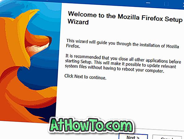วิธีอัปเกรด Firefox 32 เป็น 64 บิตโดยไม่ต้อง Reinsall