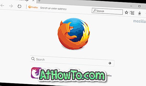 วิธีการทำให้ Mozilla Firefox ดูเหมือน Microsoft Edge