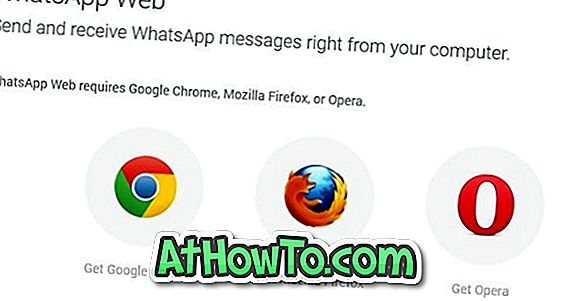 Firefox 및 Opera에서 WhatsApp Web 사용