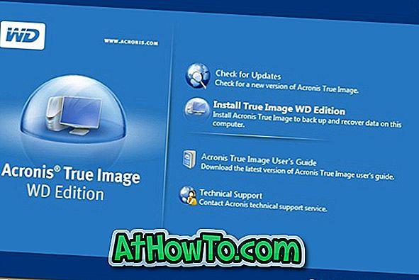 Acronis True Image'i Ücretsiz İndirin (Sadece Seagate ve Western Digital HDD Kullanıcılarına)