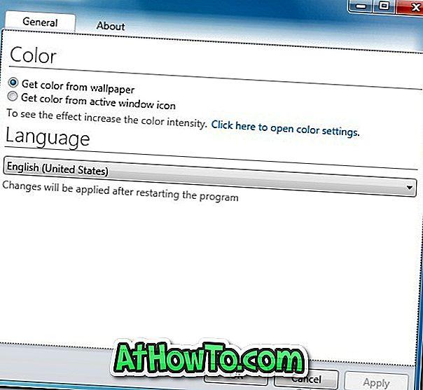 كيفية الحصول على ميزة التلوين التلقائي لـ Windows 8 Aero في Windows 7