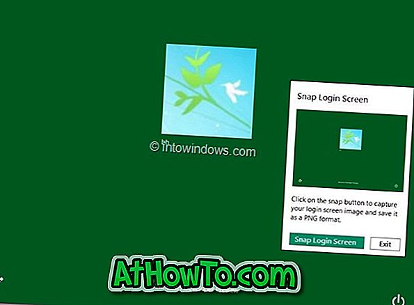 Windows 8 Login Screen Capture Tool