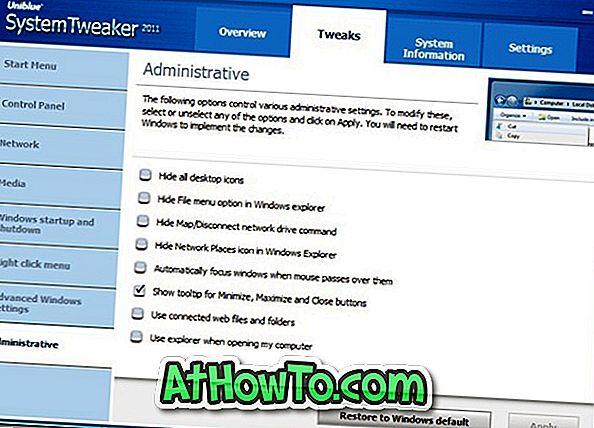 Descargar Uniblue SystemTweaker 2011 gratis