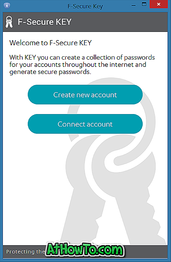 Chiave F-Secure: Gestione password gratuita per Windows, Mac e Android