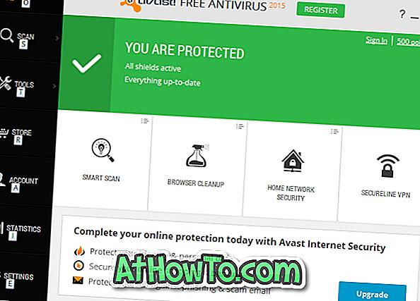 Laden Sie Avast Free Antivirus For Windows 10 herunter