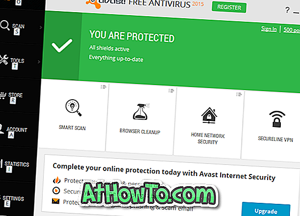 Изтегляне на Avast Free Antivirus За Windows 10