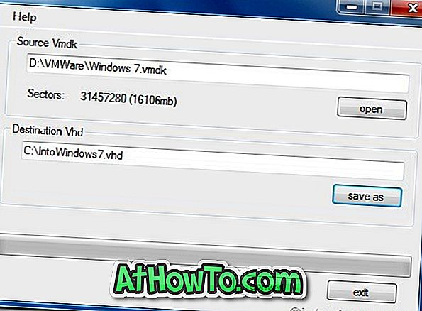 Convertisseur VMDK en VHD: Convertir VMDK au format VHD