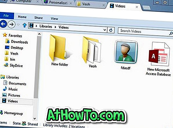 Clover: Nepieciešams, lai pārlūkotu spraudni Windows 8 Explorer