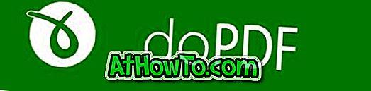 doPDF Free: किसी भी विंडोज एप्लीकेशन से पीडीएफ फाइलें बनाएं