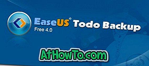 EaseUS Todo Backup Free 4.0 Dikeluarkan, Muat Turun Sekarang
