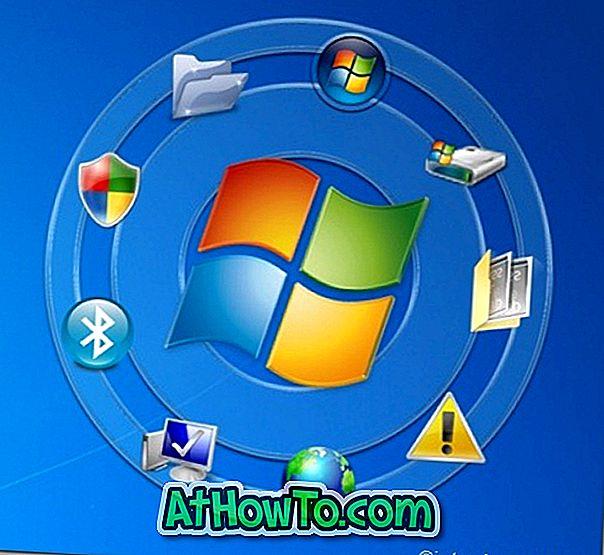 Circle Dock: Ein wunderschönes kreisförmiges Dock für Windows 7