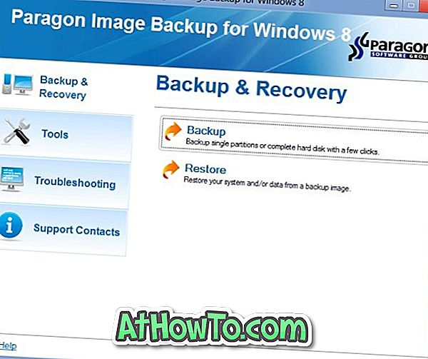 Töltse le a Paragon Image Backup Free for Windows 10/8 verzióját