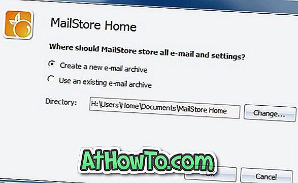 MailStore Home Free: Kopie zapasowe wiadomości e-mail z Microsoft Outlook i Live Mail