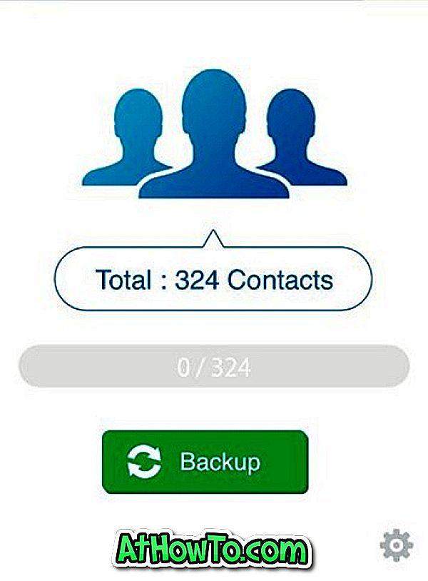 Como exportar contatos do iPhone como CSV (Excel) para o PC