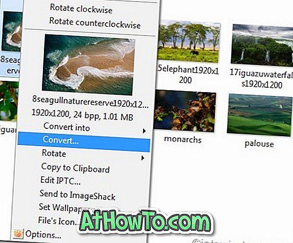 XnView paplašinājums ļauj apskatīt, pagriezt, mainīt izmērus un konvertēt attēlus no Windows labā klikšķa izvēlnes