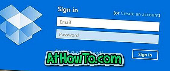 Laden Sie die Dropbox-App für Windows 8 herunter