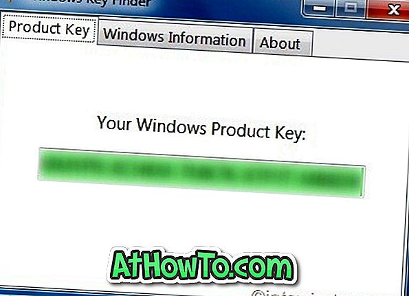Recupera la chiave del prodotto Windows 7 con Windows Key Finder
