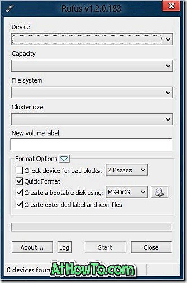 Rufus: ātrākais rīks, lai izveidotu bootable USB disku