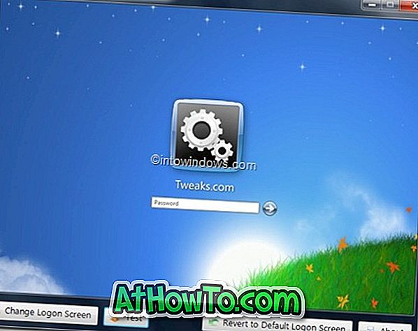 Scarica Windows 7 Logon Screen Changer Now