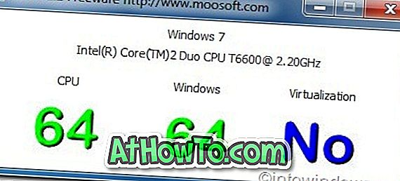 """Patikrinkite savo sistemos suderinamumą su 64 bitų """"Windows"""" ir virtualizacija naudojant """"BITS"""" įrankį"""