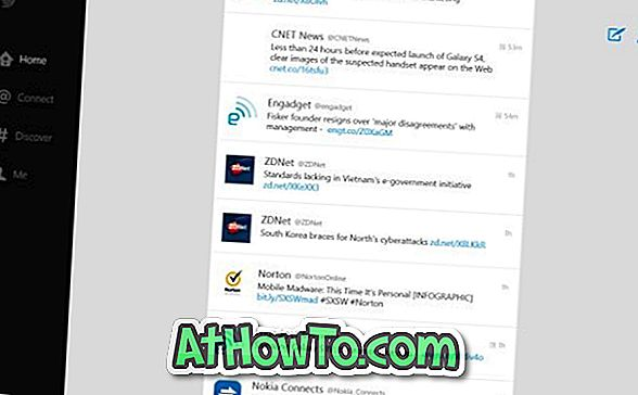 Baixe o aplicativo oficial do Twitter para o Windows 8