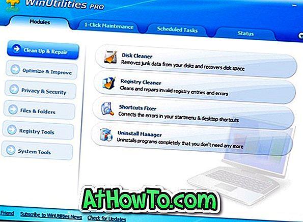 डाउनलोड WinUtilities प्रो 9.95 वर्थ $ 29.99 मुफ्त में