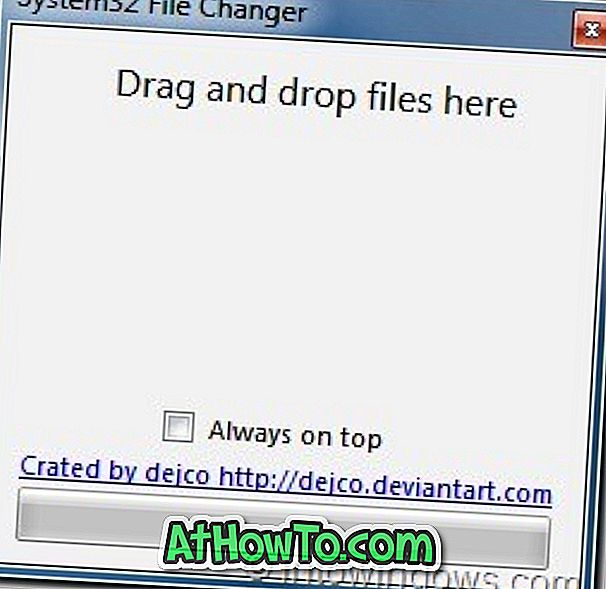 System32 File Changer für Windows 7 x64 und x86