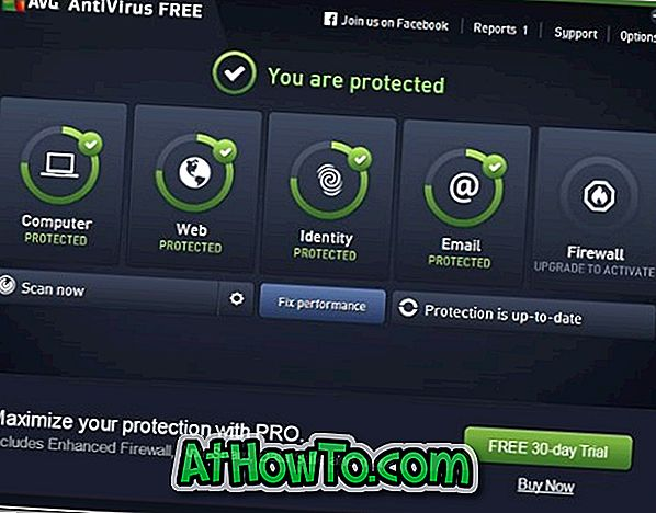 Laden Sie AVG Antivirus Free für Windows 10 herunter