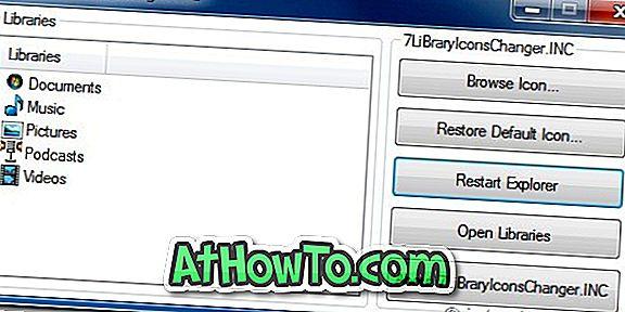 Windows 7-Bibliothekssymbole mit 7 Bibliothekssymbolwechslern ändern