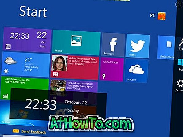 WinMetro toob Start Screen & Charms Bar Windows 7, Vista ja XP