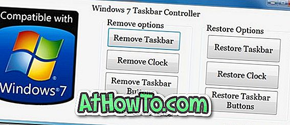 Windows 7 taakbalkcontroller