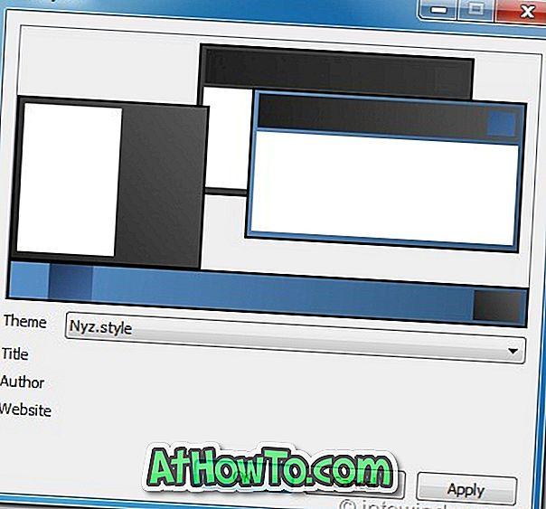 Style7: ติดตั้งและจัดการชุดรูปแบบ Windows 7 พื้นฐานที่มีสีสัน