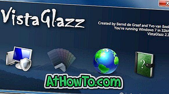 Vista Glazz, Windows 7'de Üçüncü Şahıs Görsel Stilleri Kullanmanıza İzin Verir