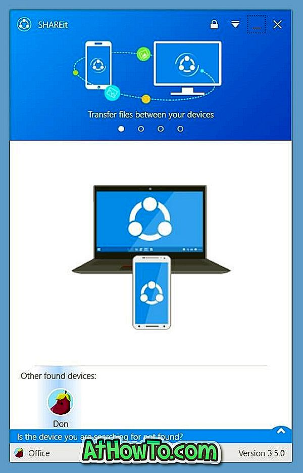 Download SHAREit til Windows 10