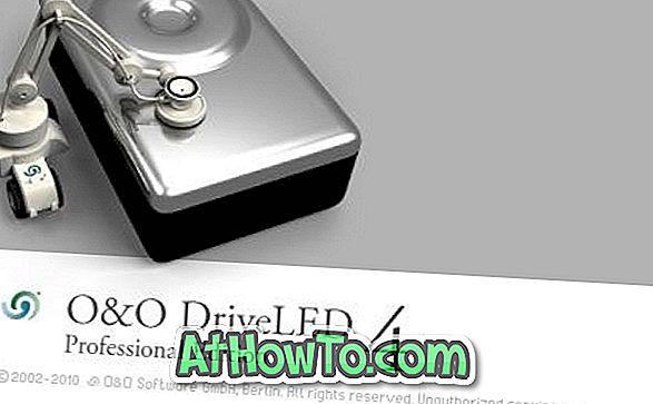 Вземете O&O DriveLED Професионален лицензен ключ на стойност $ 29 безплатно