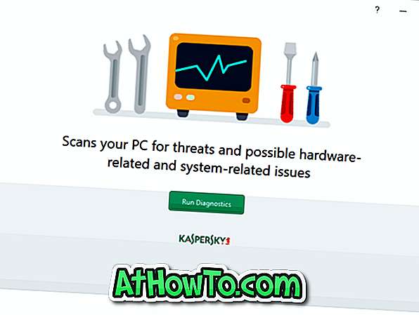 Windows 10 용 Kaspersky System Checker 무료 다운로드