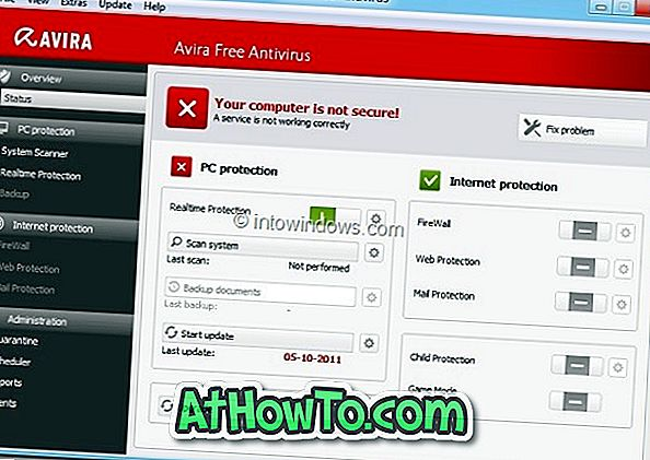 Download Avira Free Antivirus 2012 nu