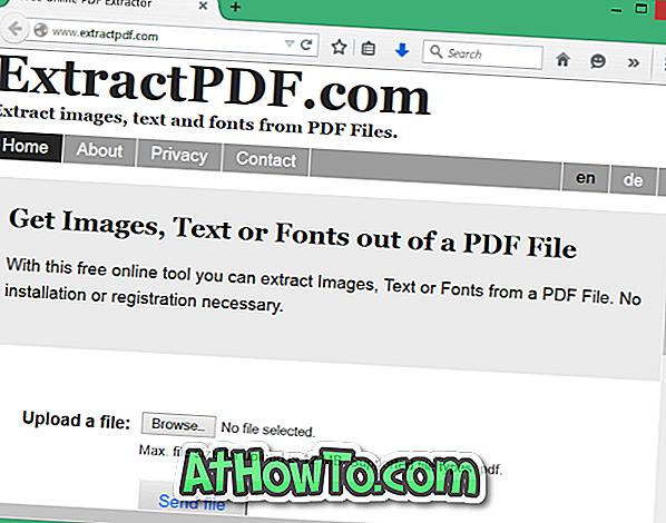 Extrahieren Sie Text aus PDF-Dateien