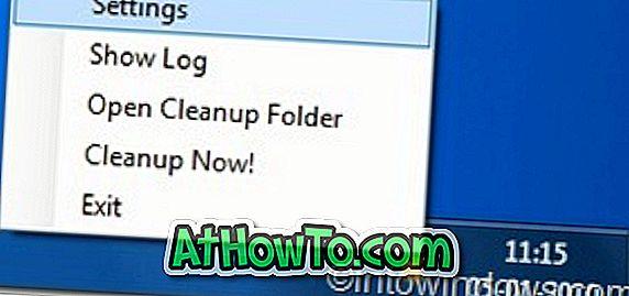 Desktop Cleaner é uma incrível ferramenta de limpeza automática da área de trabalho
