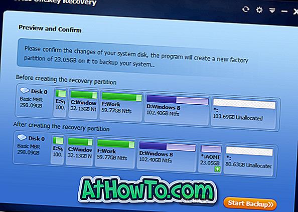 AOMEI OneKey Recovery letöltése a Windows helyreállítási
