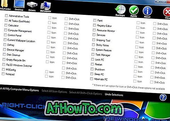 Klicken Sie mit der rechten Maustaste auf den Extender V2.0, um neue Optionen für das Windows 7-Kontextmenü zu erhalten