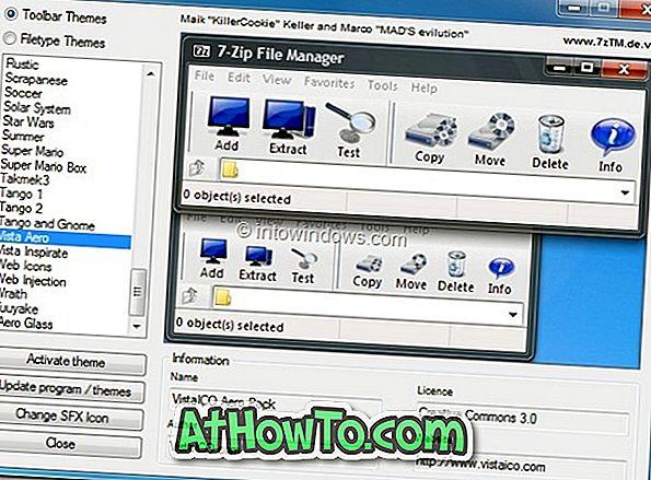 7-Zip Theme Manager: pielāgojiet 7 zip lietotāja interfeisu