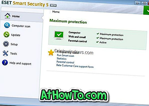 ESET Smart Security 5 Beta و NOD32 Antivirus 5 Beta متوفر الآن