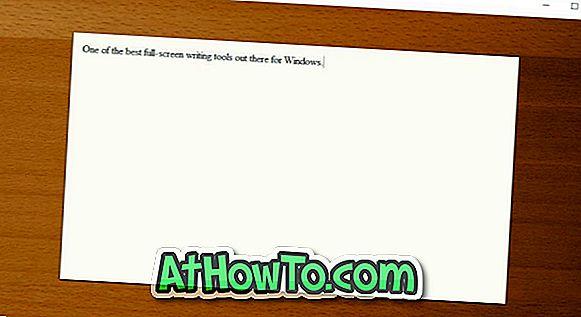 Fookusekirjutaja: hea häireteta kirjutusvahend Windowsi jaoks